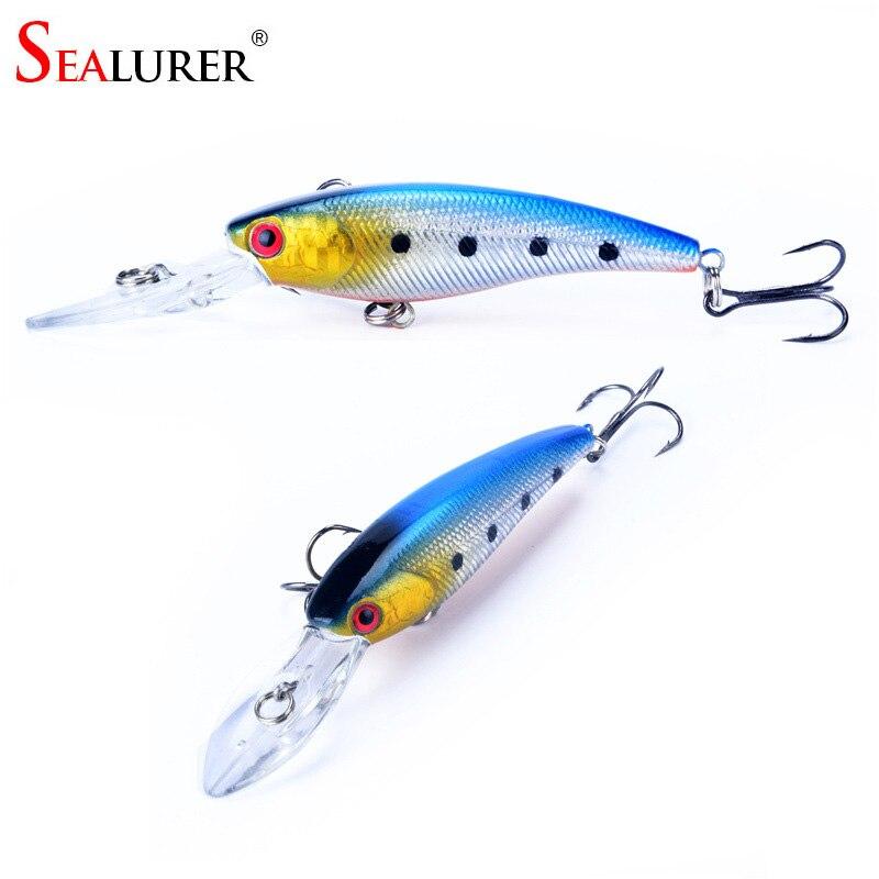 Brand 8g 9cm Lifelike Hard Fishing Minnow Lure Artificial Wobbler Fishing Bait Wobbler Floating Japan Carp Pesca Crankbait