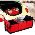 Estilo Folha De Alumínio Isolamento Térmico Saco De Armazenamento Folding Car Trunk Organizer Caixa De Carga Universal
