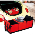 Styling Aluminum Foil Thermal Insulation Universal Cargo Storage Bag Folding Car Trunk Organizer Box