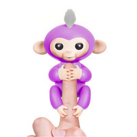 High Quality Cute Fingerlings Interactive Baby Monkeys Finger Monkey Smart Induction Toys Electronic Toys Best Gifts