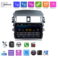 Car Mp5 Player Multimidia Auto 2 Din Radio Automotivo for Toyota Corolla E140 150 2006 2007 2008 2009 2010 2011 2012 2013 46