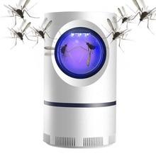 Luz ultravioleta lámpara antimosquitos por USB, ahorro de energía, ahorro de energía, trampa fotocatalítica UV contra mosquitos