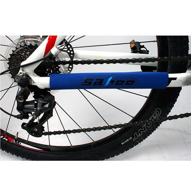 Sahoo Bike Bicycle Chain Stay Frame Rear Fork Care Protector Guard ...