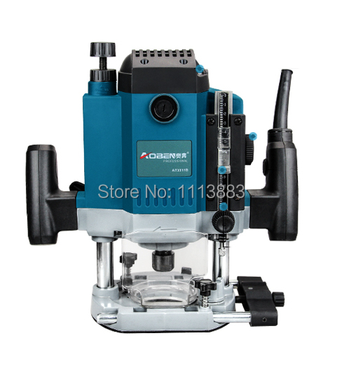 1800W Heavy Duty Plunge Base Router 1/2