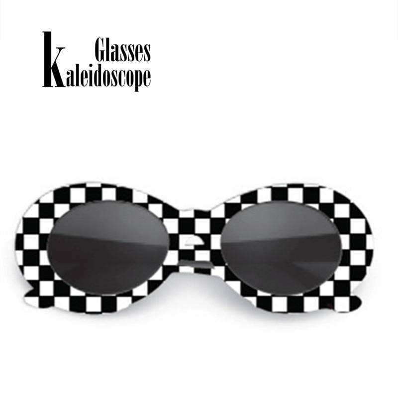 Kaleidoscope Glasses Women Sunglasses NIRVANA Kurt Cobain Sun Glasses Clout Goggles Retro Women Sunglass Male Female Eyewears
