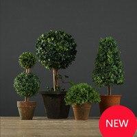 Piccolo bonsai piante del desktop decorazione albero bonsai piante artificiali decorazione della casa