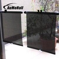 AuMoHall 1 пара 36 см выдвижной автомобиля шторы солнцезащитный блок для заднего боковое окно