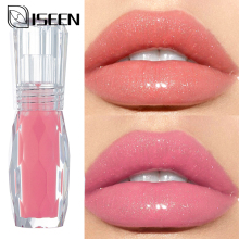 Увлажняющий водоотталкивающий блеск для губ, долговечный, сексуальный, с большими губами, прозрачный, водостойкий, объемный блеск для губ, яркий, красочный блеск для губ