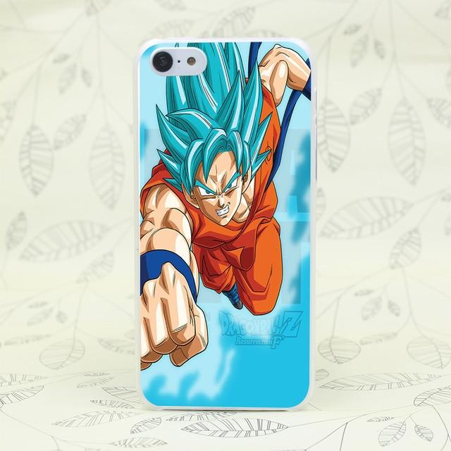 Dragon Ball Z Hard Transparent Phone Case Cover