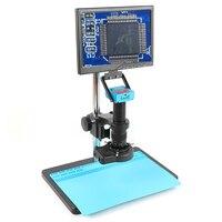 2K 30MP HDMI Camera 180X 300X Zoom Lens Industrial Digital Video Microscopio Set For Electronic PCB Soldering Repair