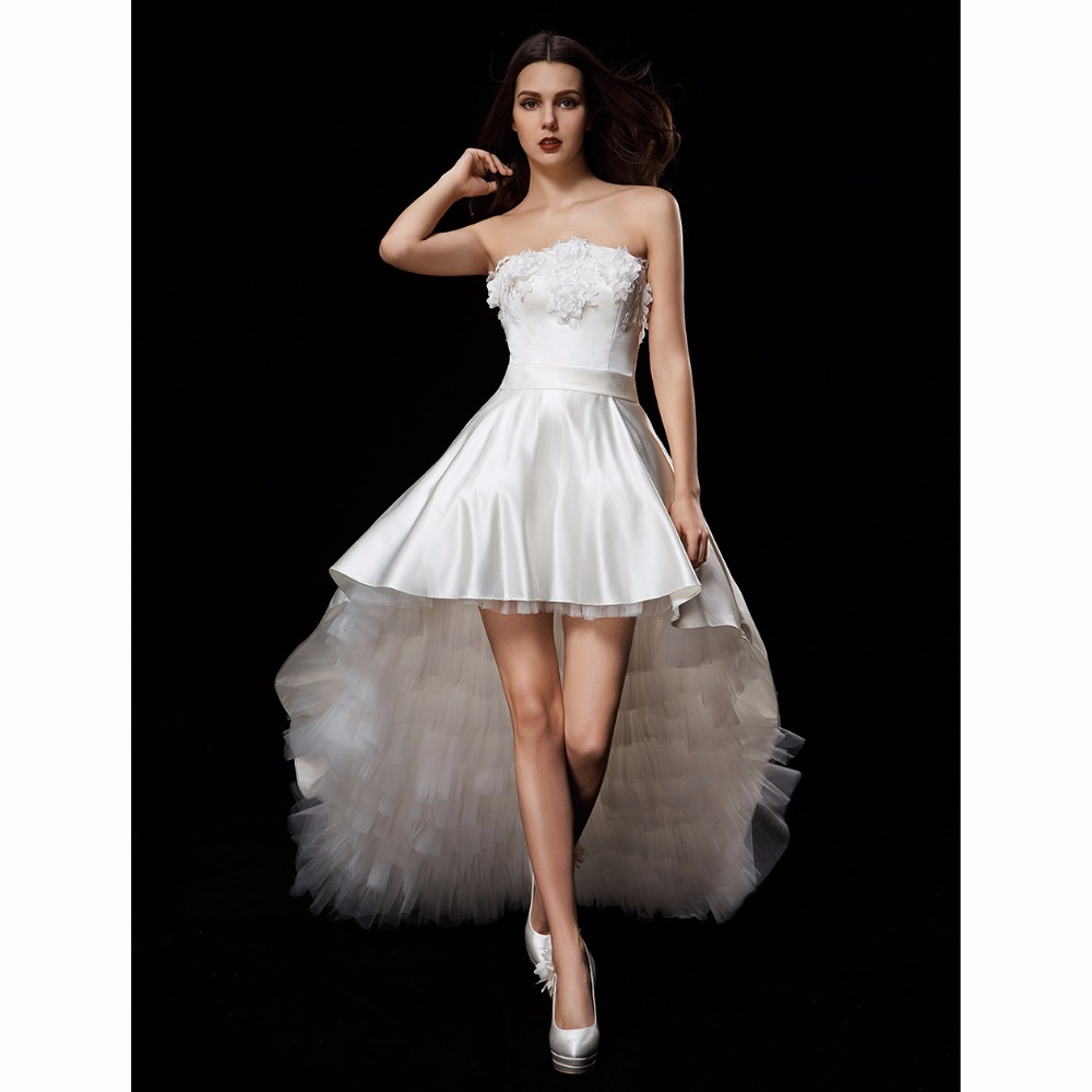 LAN TING BRIDE Ball Gown Wedding Dress Strapless