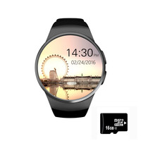 Bluetooth KW18 Smart Watch Connected WristWatch for Samsung HTC Huawei LG Xiaomi Android Smartphones Support Sync Call Messager