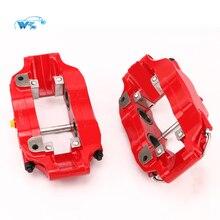 KOKO гоночный автомобиль аксессуары WT5200 гоночный автомобиль красный суппорт подходит для 330*28 мм тормозной ротор и центральный колокольчики/шляпы тормозной суппорт крышка