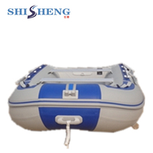 Best selling inflatable boat for fishing,OEM production aluminium floor rubber boats