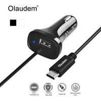 Olaudem USB 3 1 Type C Car Charger Type C 5V 3A USB A 5V 1A