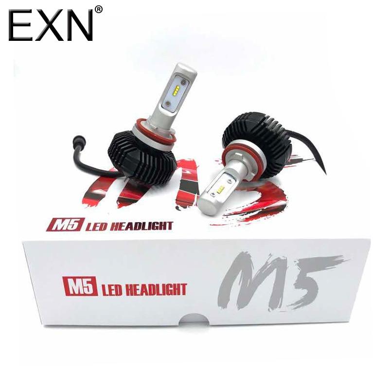 auto led car headlight h11 h8 h9 9 v 30 v 6000 k 60 w 6400lm s7 car led headlamp lamps conversion kit headlight ip68 waterproof H8/H9/H11 Led Headlight Bulb Conversion Kit H8 LED Headlamp Bulb 32W 5600Lm 6000K Led Car Headlight Bulb Replace for Halogen