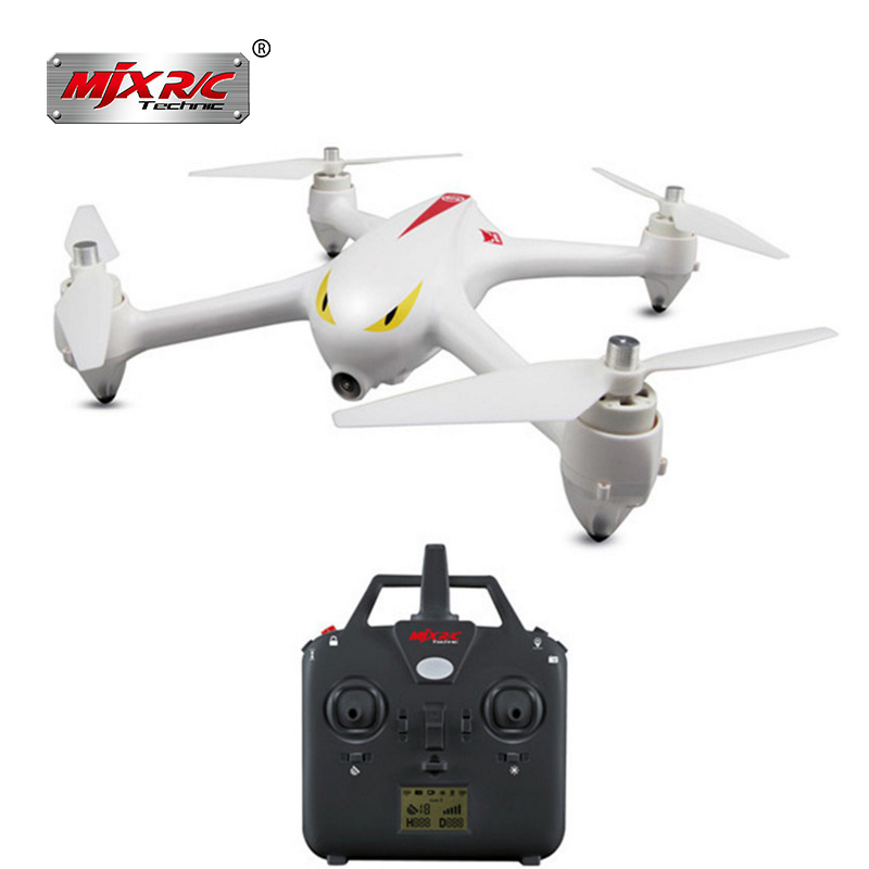 RC GPS Drone with Camera 1080P HD MJX Bugs 2C Brushless Quadcopter Drone with Hover Smart Return System RC Toys for Beginners