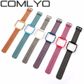 COMLYO Nylon strap Bands for Fitbit Blaze nylon band Wrist smart Watch Strap+Metal stainless steel plating Frame Multi-color