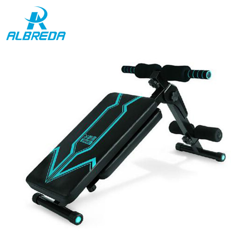 ALBREDA New Sit Up Bench fitness equipment for home abdominal waist trainer bench women ab mat the sports equipment For a waist new arrival sit up bench fitness equipment for home abdominal waist trainer bench women ab mat the exercise machine for a waist