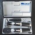 Free shipping Germany quality Medical Diagnostic Set Fiber Optic Otoscope &  direct ophthalmoscope otoscopio&oftalmoscopio
