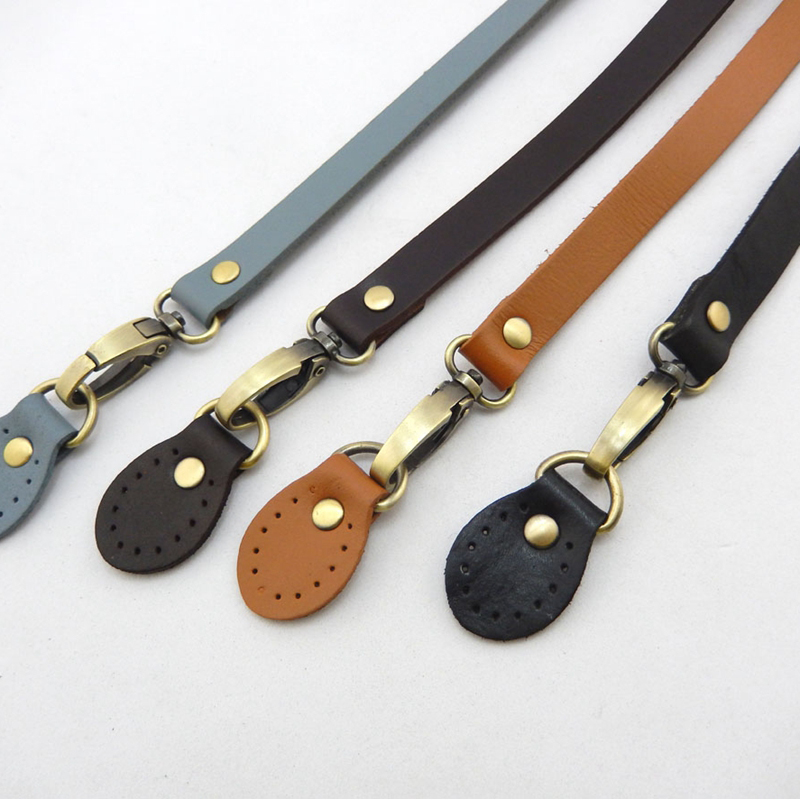 120cm Bags Strap Adjustable Strap Belt Brown Detachable Handle Real Cowhide Replacement for Women Girls Shoulder Bag Accessories in Bag Parts Accessories from Luggage Bags