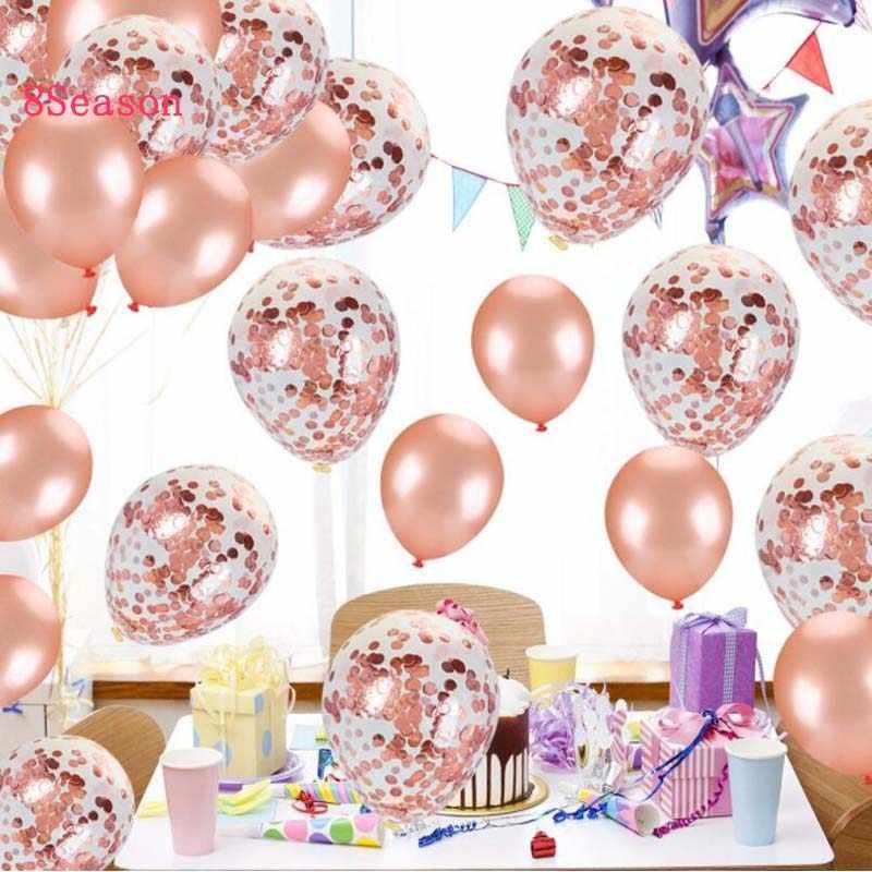 3a89842385f70e 8Season Latex Confetti Balloon Happy Birthday Unicorn Balloons Wedding Party  Favor Baby Shower Decoration Bridal Shower
