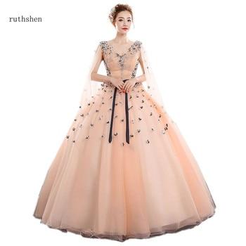 6c0f77b07 Ruthshen Vestidos de quinceañera 15 Anos Vestidos Quinceanera Vestidos  apliques Vestido de baile de graduación para la fiesta