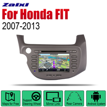 цена на Auto Radio 2 Din Android Car DVD Player For Honda FIT / JAZZ 2007~2013 GPS Navigation BT Wifi Map Multimedia system Stereo
