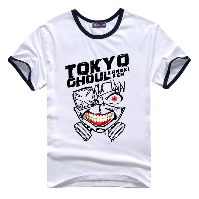 New Anime Tokyo Ghoul kaneki ken  Full color Tee Casual Top T-Shirt S-XXXL Gift