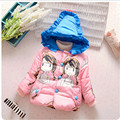 Coat Baby Girls winter Coats  jacket long sleeve coat girl's warm jacket Winter Outerwear Thick girls