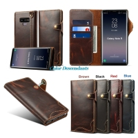 Flip Magnetic Cover For Samsung Galaxy Note 9 Coque Luxury Leather Book Wallet Fashion Case For Samsung Galaxy Note9 Phone Cases