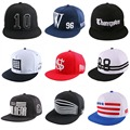 cheap promotion simple 10 letter active sports style men women hip hop snapback snap back hats sun hat flat peak baseball caps