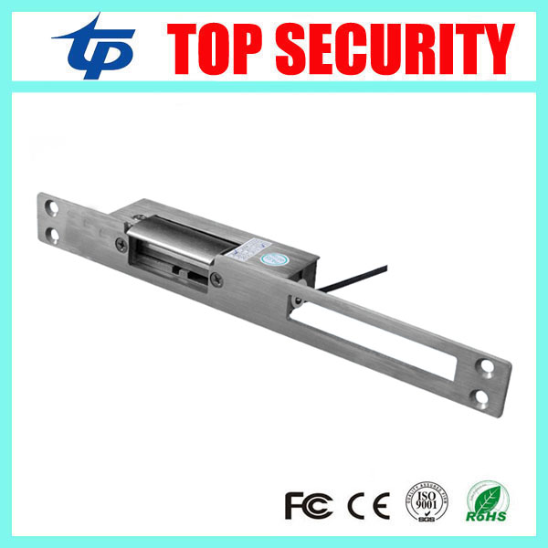 Top Security New Electric Strike Lock For Access Control System Video Doorphone Intercom Use NO Mode (Fail Security)) surface mounting type dc12v fail safe mode electric bolt lock for access control or intercom system