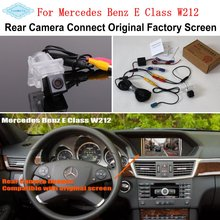 For Mercedes Benz E Class W212 2010~2016 / Connect Original Factory Screen Monitor High Quality Rear View Back Up Camera