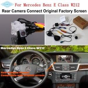 Image 1 - Оригинальная Заводская камера заднего вида, для Mercedes Benz E Class W212 2009 ~ 2016
