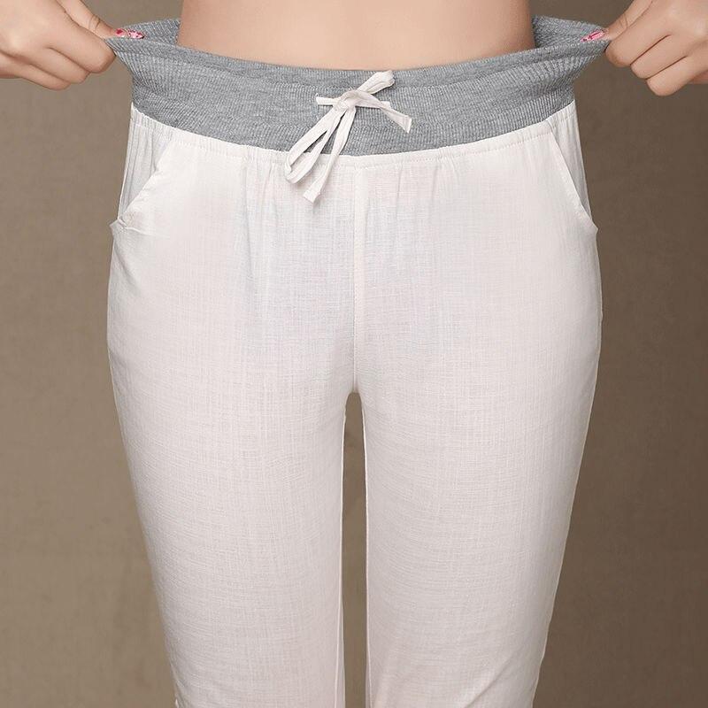Online Get Cheap Plus Size Linen Capris -Aliexpress.com | Alibaba ...