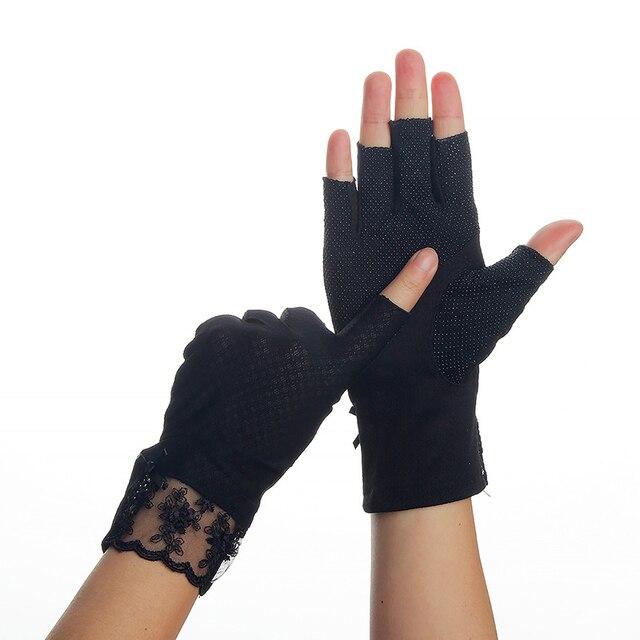 Half Fingers Gloves Women...