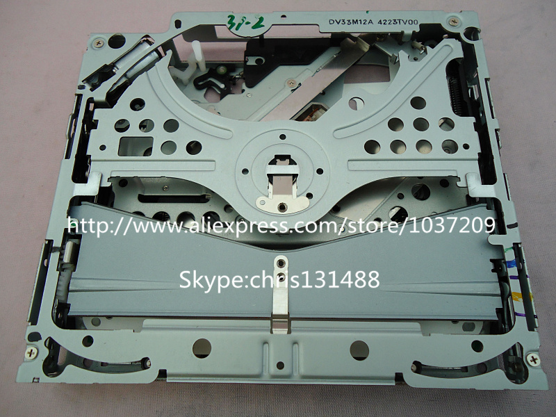 New Alpine DVD navigation loader deck mechanism DV23M12B DV33M12A for Chrysler Acur car Toyota B9001 Lexus