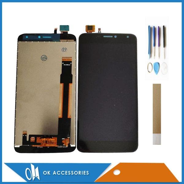 5.5 Mercúrio BQS 5520 BQS5520 BQS-5520 Polegada Para BQ Móvel BQ 5520 BQ-5520 Display LCD Com Digitador Da Tela de Toque Com ferramentas Fita