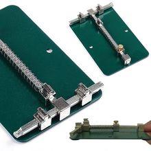 Soporte de PCB para reparación de placa de teléfono móvil, plataforma de trabajo, abrazadera de soporte fijo, tablero de PCB de acero, soporte de reparación de soldadura
