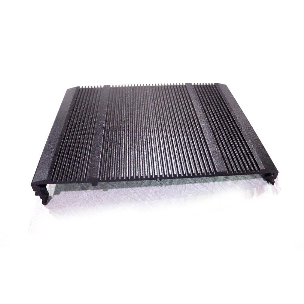 Aluminum cover metal plates case enclosure 2mm thickness 217X170X33mm custom service DIY NEW все цены