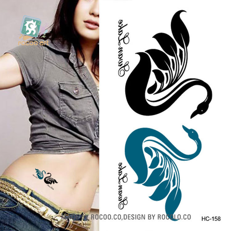 HCSeies Wrist Flash Tattoo Fake Tattoo Waterproof Butterfly Design Temporary Tattoo Stic ...