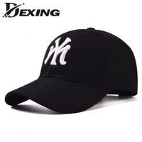 Dexing Brand Unisex Fashion Cotton Baseball Cap Snapback Hat For Men Women Sun Hat Bone