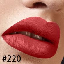 цена на Color 220 private label matte liquid lipstick lip gloss factory wholesale cosmetics makeup private custom logo