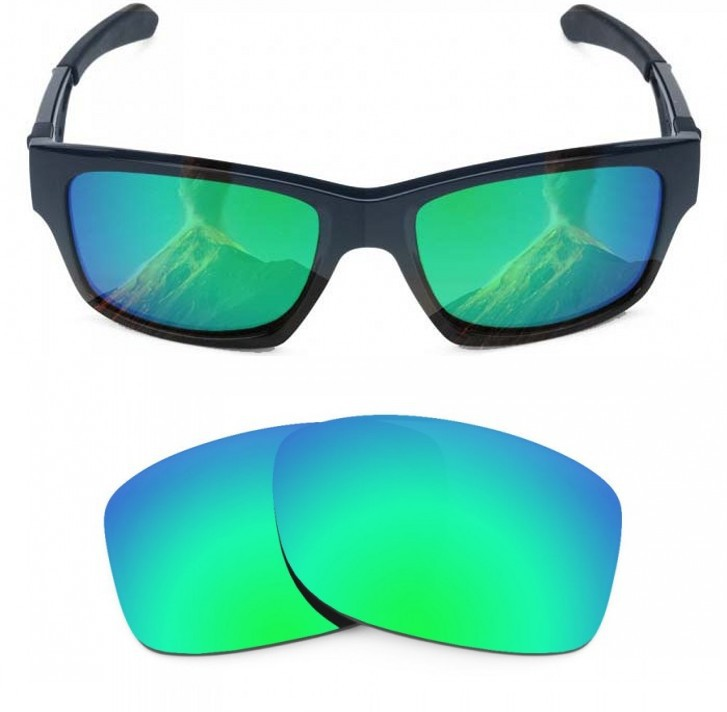 f8500a968b Outdoor Sports Accessories Eye Glasses Lens Replacement Lenses for Oakley  Jupiter Squared Polarized Emerald Green MirrorShield-in Sunglasses from  Apparel ...