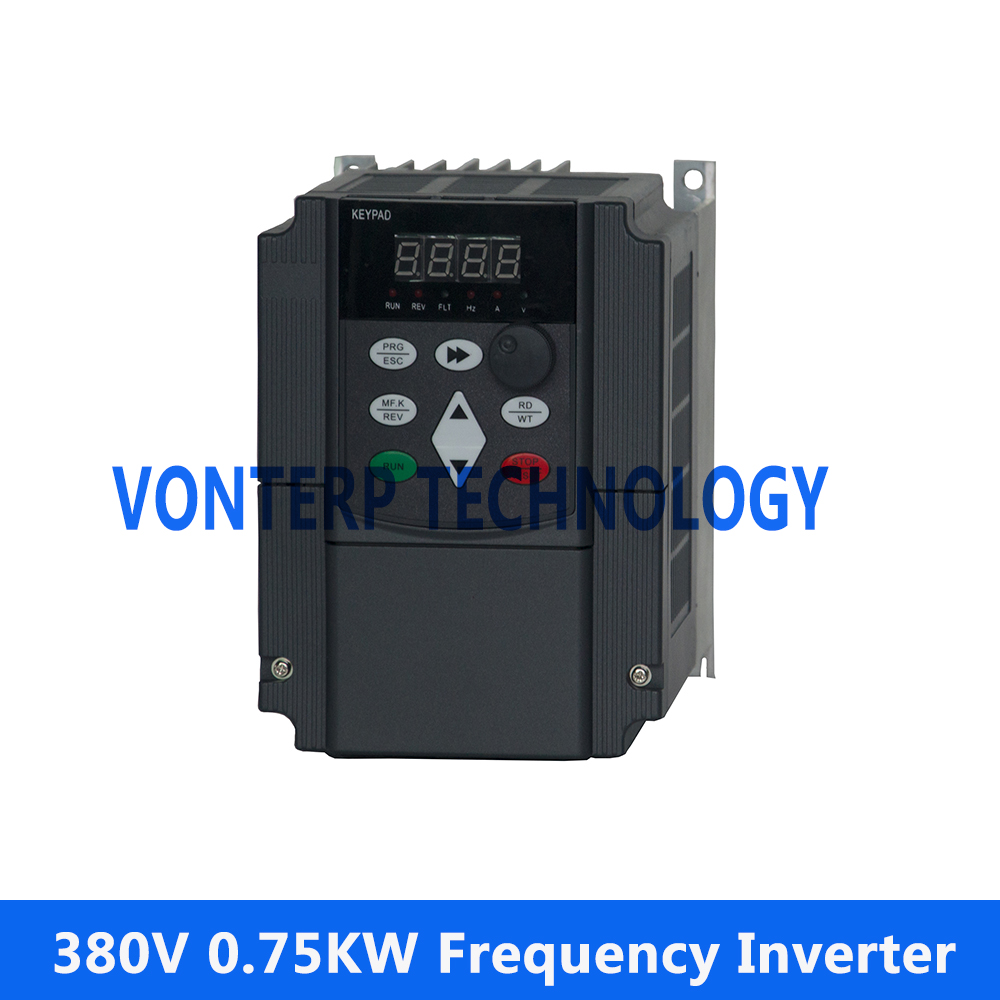 380V 0.75KW 3 phase  frequency inverter  AC drive/AC motor drive/variable speed drive/frequency inverter/frequency converter