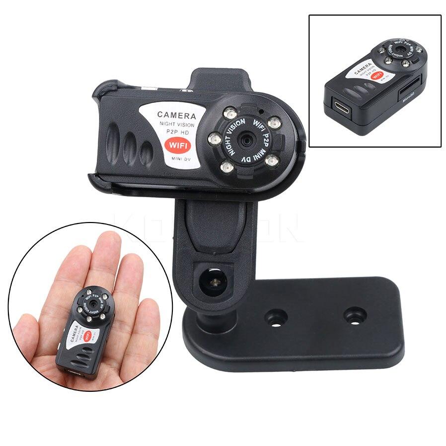 Q7 Camcorder Video Recorder Mini Wifi DVR Wireless IP Camera Infrared Night Vision Camera Motion Detection