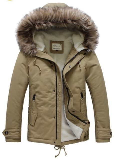 53ee68d55bb US $49.04 |2014 Men's Luxury Faux Fur Long Winter Trench Coat Jacket Hooded  Parka Overcoat yuTML vqq4 4EjD-in Parkas from Men's Clothing on ...