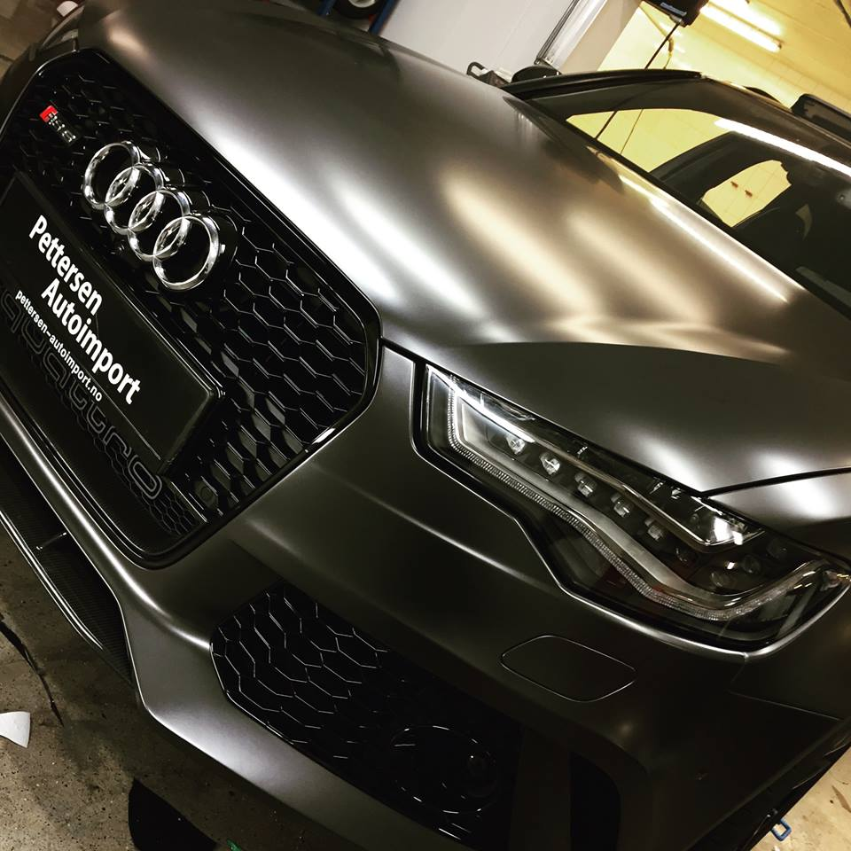 Matte anthracite metallic vinyl wrap gunmetal matt car wrapping film covering foil with air bubble free