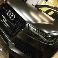 Matte Anthracite Metallic Vinyl wrap Gunmetal matt car wrapping film covering foil with air bubble free Size 1.52x/20m PROTWRAPS